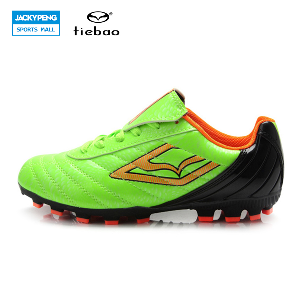 TIEBAO Outdoor Sports Football Shoes Boys FG & HG & AG & S Soccer Shoes For Children Soccer Shoes Kids Fussball Schuhe