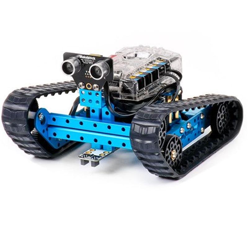 MBot Ranger 3-in-1 Electronic Robot Kit STEM Educational Toy Gifts for children sunfounder sf rollbot stem learning educational diy robot kit gui mixly for arduino beginner bluetooth module infrared sensor