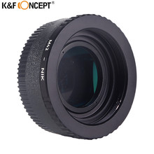 K& F концепция M42 для Nikon адаптер+ стекло+ Крышка для Nikon D5100 D700 D300 D800 D90 DSLR