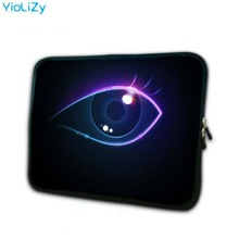 print eye soft laptop sleeve 7.9 notebook bag smart tablet case 7 mini PC protective shell cover for ipad tablet TB-23492 protective nylon soft case sleeve bag w strap for ipad tablet pc blue