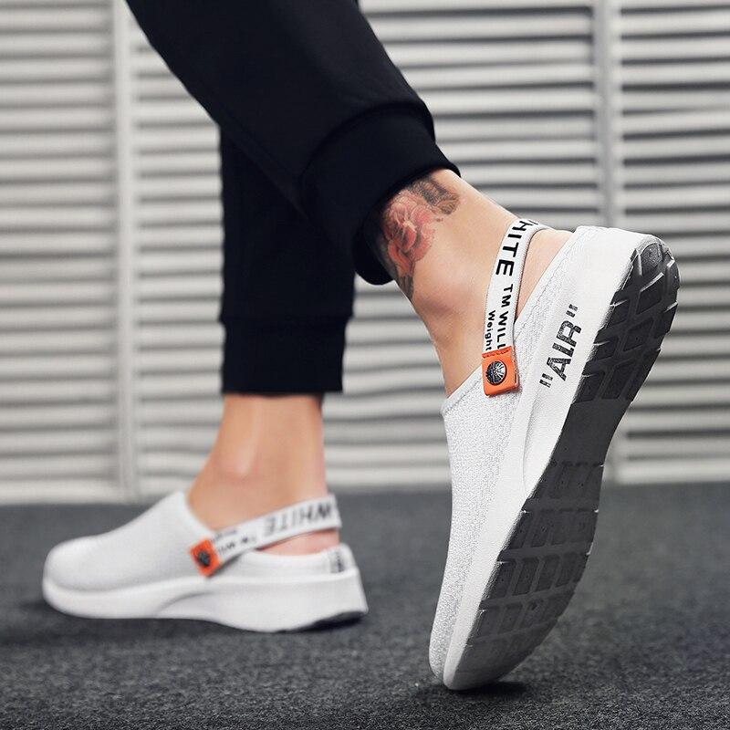 Marche Pas 1 4 Sandales Cher Chaussures Respirant D'été Pantoufles Mode De Maille Hommes Casual 3 2 CTgxwqfaP