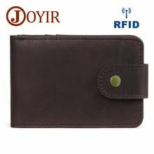 Mini Wallet High Quality Men Credit Card Holder Genuine Leather ID Holder Men Purses Wallets Card Holder For Male Man Bag