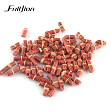 Fishing Lures Red Worm Smell Grass Carp Baits Fishing Baits Live Bait Accessories Pesca Isca Artificial 1 Bag 60-70pcs