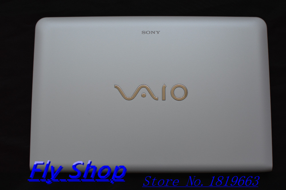 original A cover 3FHK5LHN010 white LCD LID back cover For VAIO SVE151 SVE1511 SVE1512 E series