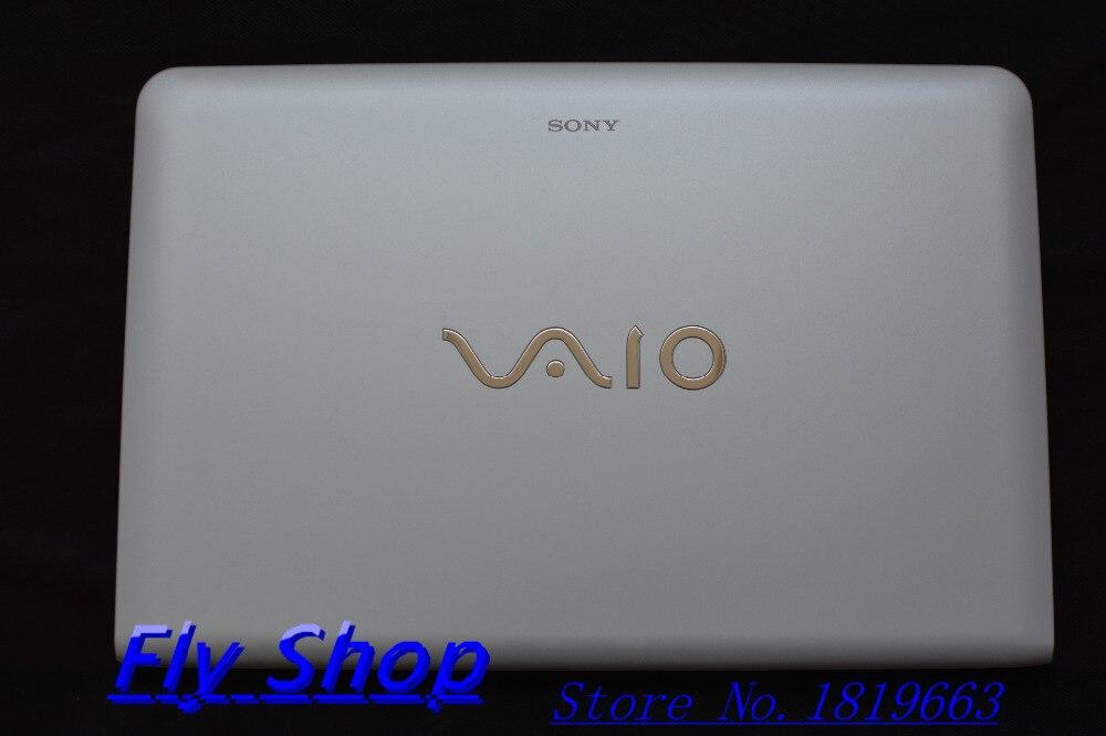 original A cover 3FHK5LHN010 white LCD LID back cover For VAIO SVE151 SVE1511 SVE1512 E series 15.6 laptop