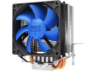 pccooler S810 CPU heatsink,2 heat pipe,CPU fan,CPU cooler,for Intel LGA 775/1150/1156 for AMD 754/939/AM2/AM2+/AM3 Free shipping процессор other intel e6700 3 2g 775 cpu
