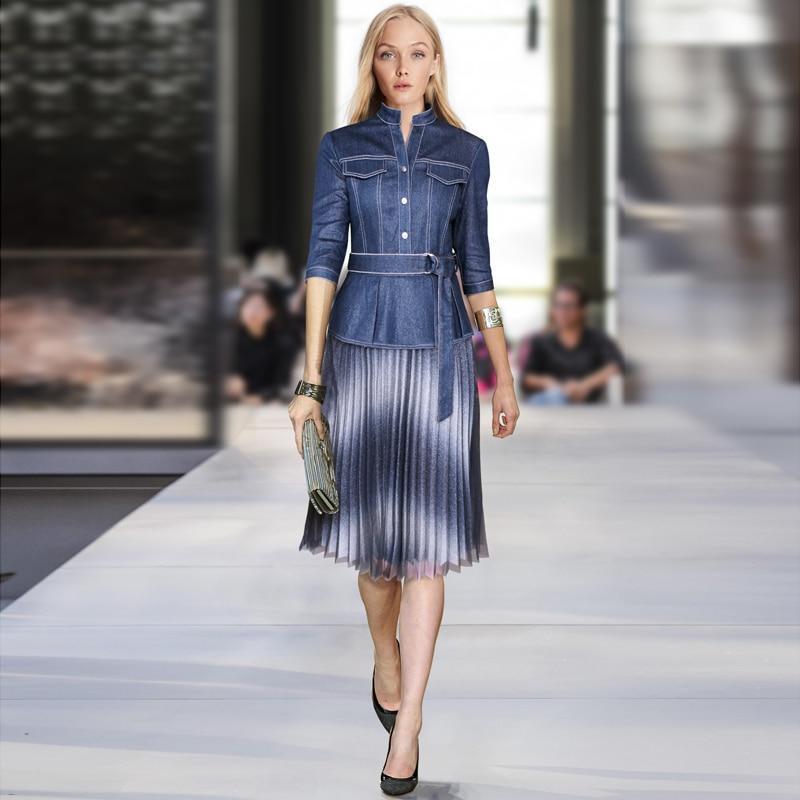 Runway Designer High Quality 2019 Summer New Women S Fashion Party Work Sexy Vintage Elegant Chic