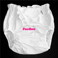 Free Shipping FUUBUU2219 Adult Diapers Nappies Old Shorts Plus A Leak To Prevent Side Leakage Of