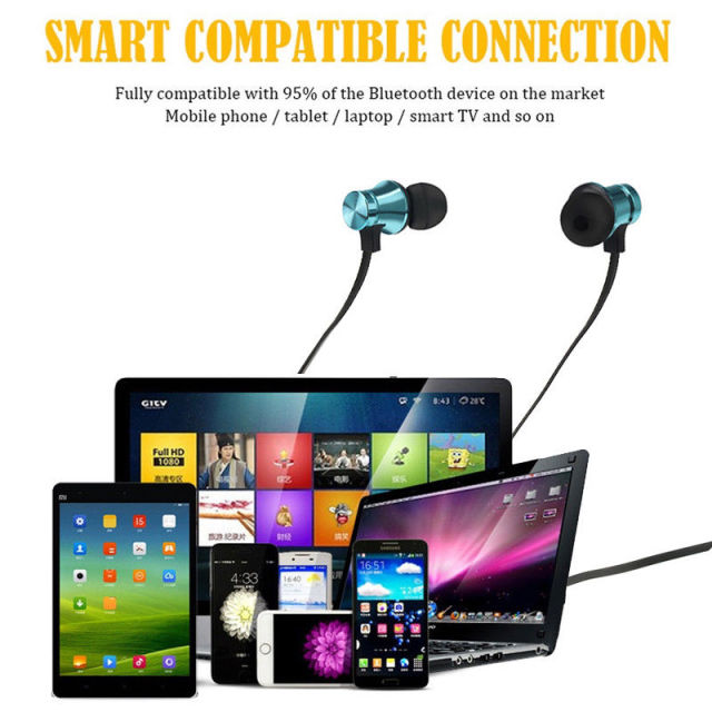 L10 Bluetooth Earphone Sport Wireless Headphones Wireless Headset Handsfree Bass Earbuds with Mic for iPhone Xiaomi Samsung