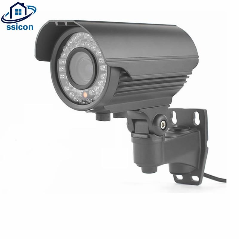SSICON 5MP Full HD CCTV Zoom 2.8 ~ 12mm Objectif IP66 Extérieure AHD Caméra Infrarouge SONY326 Capteur Étanche Bullet Caméra de Surveillance