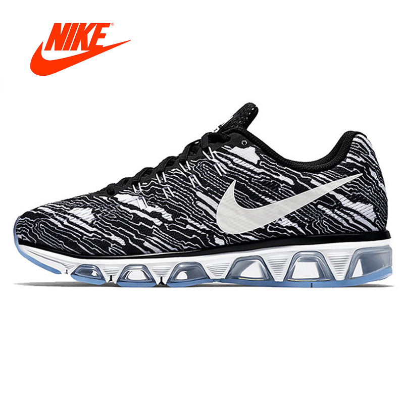 Original New Arrival Authentic Nike AIR MAX TAILWIND Men 's Air Cushioning Camouflage Running Shoes Sneakers 806803-001