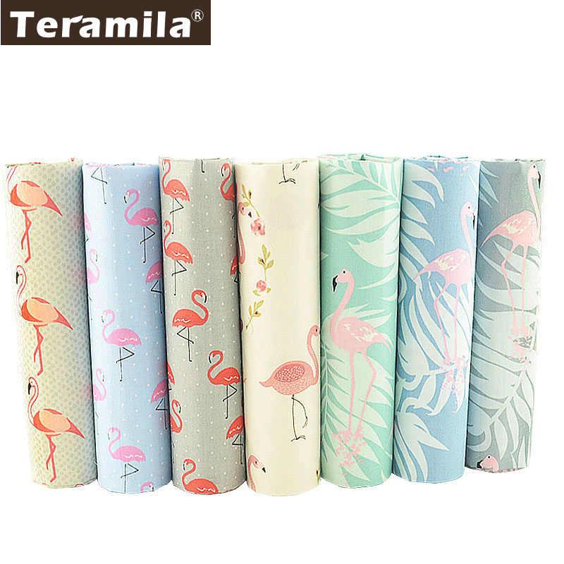 Teramila, 100% хлопок, саржевая ткань, 7 крановых кранов, шитье, 40 см x 50 см, сделай сам, лоскутное шитье, толстая четверть, набор, Telas Textile