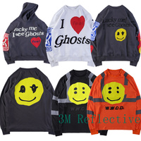 Kanye West Hoodies Men Womens 1:1 High Quality KIDS SEE GHOSTS FREEEE ASAP Rocky CPFM W.W.C.D Sweatshirt Hoodie