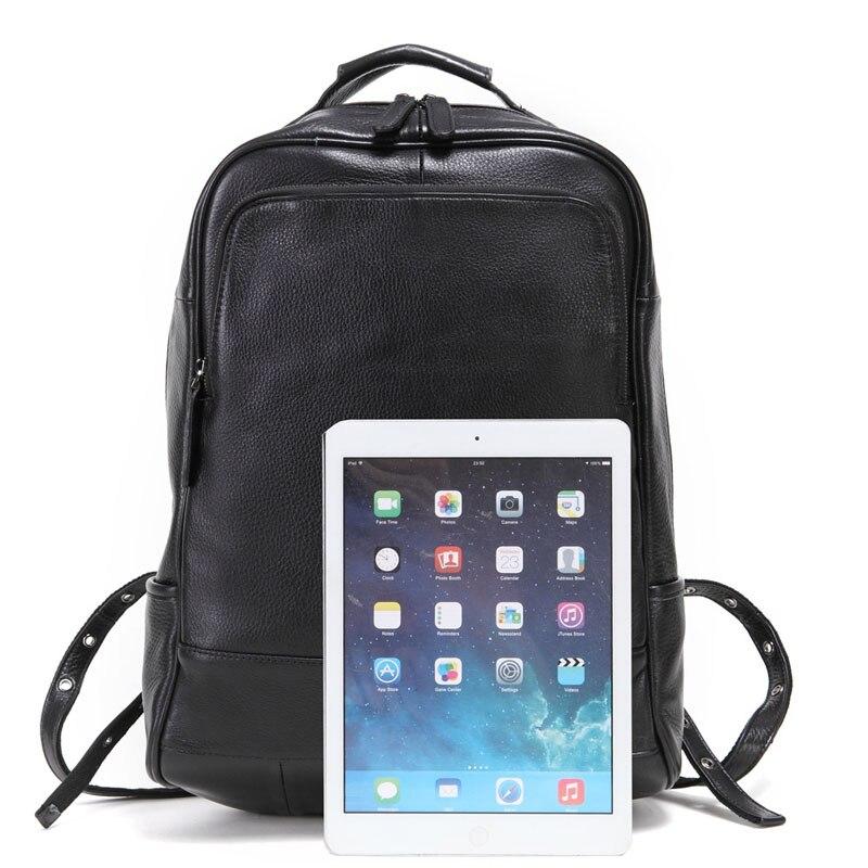 Bagaj ve Çantalar'ten Sırt Çantaları'de AETOO deri erkek omuzdan askili çanta kafa katman deri sırt çantası moda trendi çantası iş bilgisayar çantası'da  Grup 2