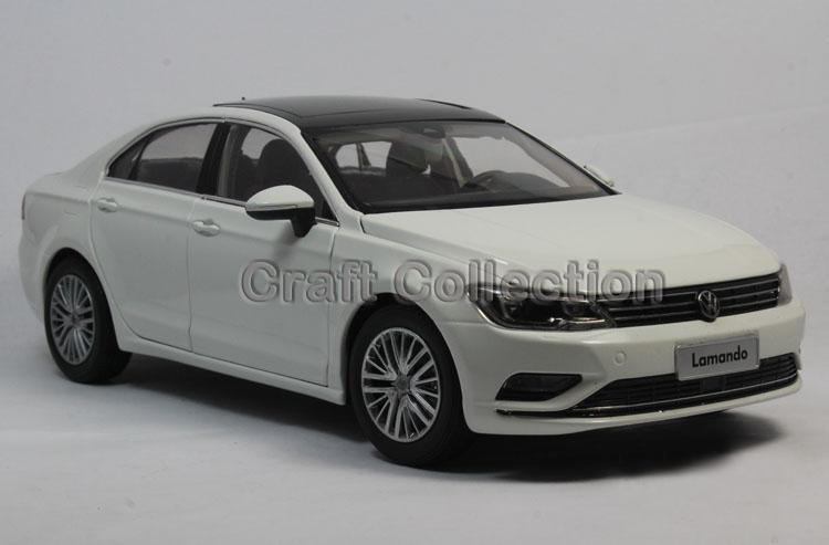 * New White 1:18 Volkswagen VW Lamando 2015 Diecast Model Car Classical Sedan Collection Several Colors