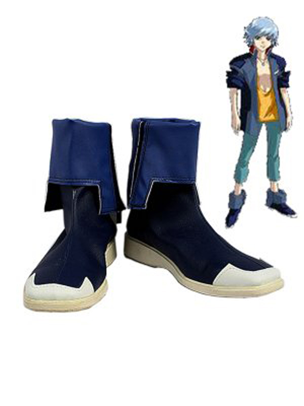 MOBILE SUIT GUNDAM Auel Neider Cosplay Boots Shoes Anime Party Cosplay Boots Custom Made for Adult Men Shoes image
