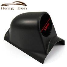 """HB черный """" 52 мм Универсальный a-столб одно отверстие приборной панели метр Pod держатель левосторонний привод"""