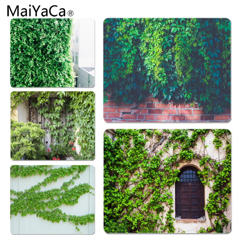 MaiYaCa New Printed Parthenocissus Customized laptop Gaming mouse pad Size for 180*220*2mm and 250*290*2mm Mousepad