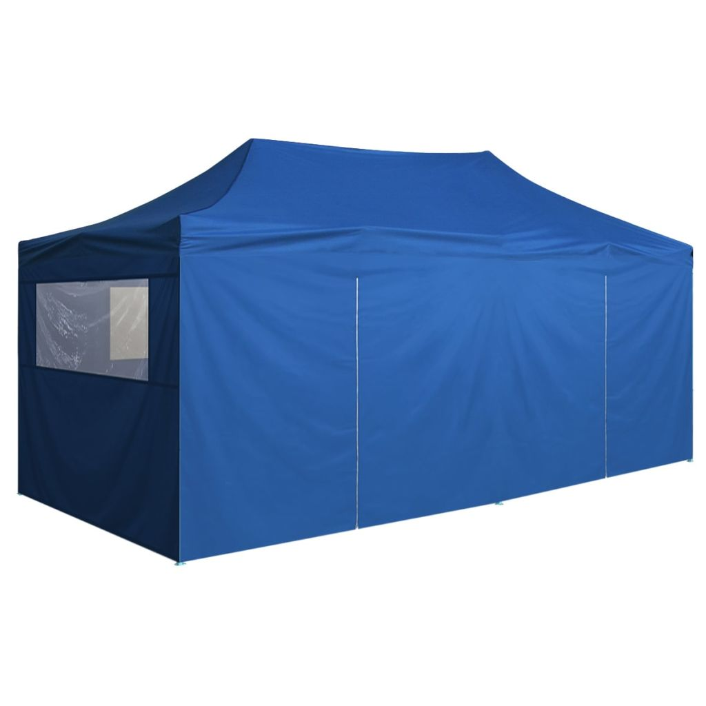 Vidaxl Pop Up Namiot Z 4 ściany Boczne 98 X19 Niebieski