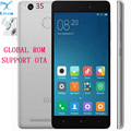 "Оригинал Xiaomi Redmi 3 S 3 S Мобильного Телефона 4100 мАч Батареи Отпечатков Пальцев ID Snapdragon 430 Octa Ядро 5 ""720 P 13MP Камера Металлический Корпус"