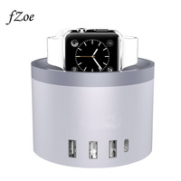 FZoe Mobile Phone Charger 5 Port 30W USB Desktop Charging Stand For Apple Watch Series 3