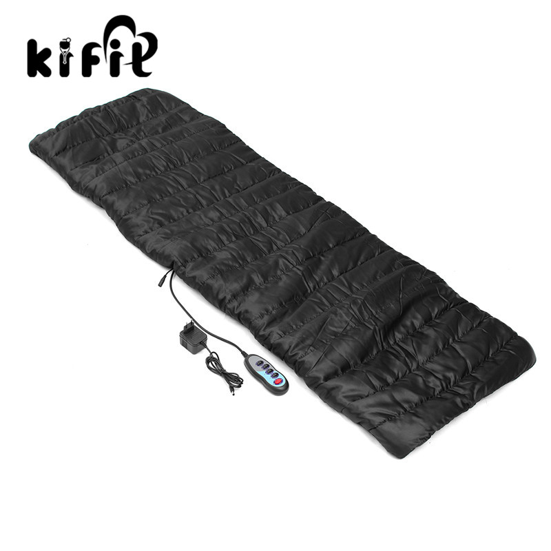 KIFIT Full body Electric Massage Mattress Health Care Multifunction Chair Cushion Blanket Mat Seat Equipment Therapy Bed Gift