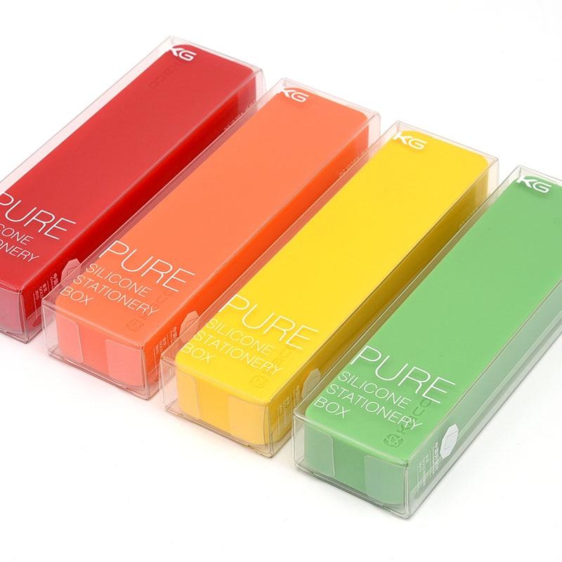 все цены на KACO PURE Silicone Stationery Pencil Case Creative Anti-Static Protect Pencils Candy Case Pencil Pencil Case+1 Black Gel Pen онлайн