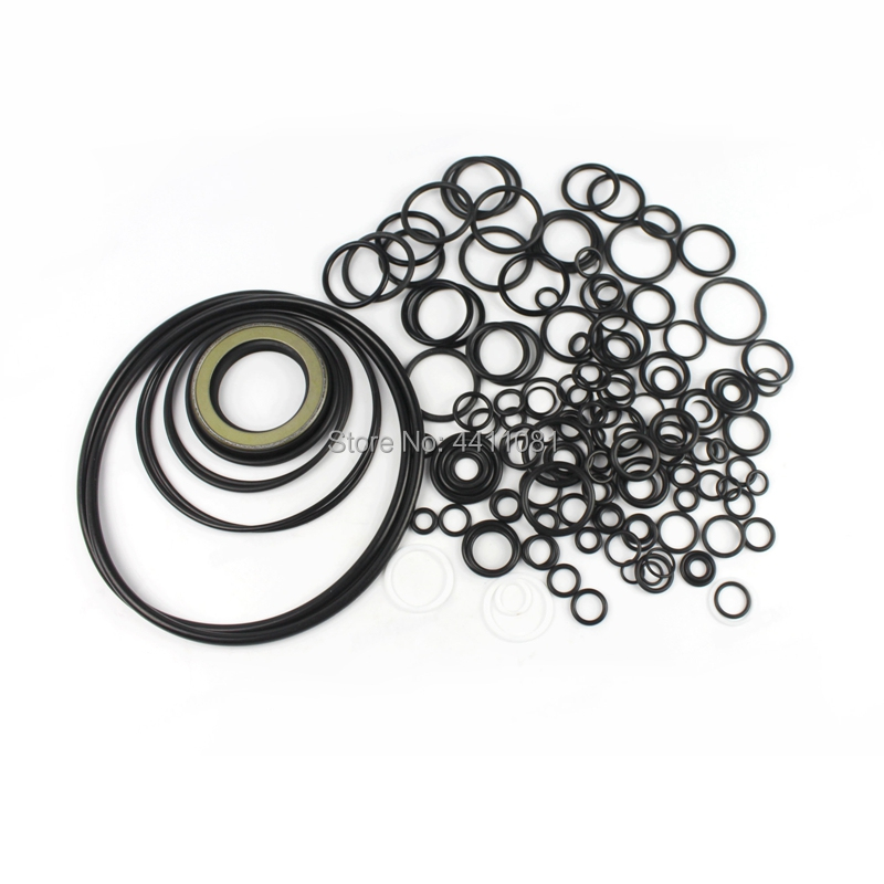 For Komatsu PC400-6 Hydraulic Pump Seal Repair Service Kit Excavator Oil Seals, 3 month warranty