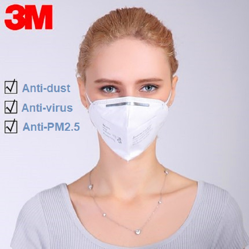 5/10pcs 3M N95 9010 Dust Mask Safety Anti Flu H1N1 PM 2.5 Protective Folded Mask  Multi Layer Filter Structure Industrial Fog 5/10pcs 3M N95 9010 Dust Mask Safety Anti Flu H1N1 PM 2.5 Protective Folded Mask  Multi Layer Filter Structure Industrial Fog