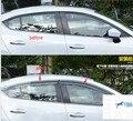 Para Mazda 3 AXELA Sedan 2014-2016 Viseiras Da Janela Toldos Viseira Deflector de Vento Chuva Ventilação Guarda
