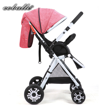 Lightweight Portable Baby Stroller Folding Can Sit Can Lie Ultra-light Portable On The Airplane Children Kid Pram mini light small baby stroller baby carriage cart portable foldable travel system car stroller airplane pram can sit flat lying