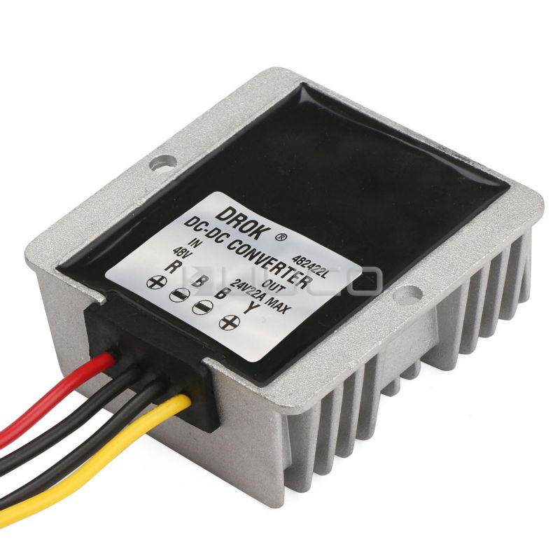 530W Buck Voltage Regulator/Car Adapter DC 48V(30~60V) to 24V 22A Step Down Power Supply Module/Power Converter/Driver Module 150w buck power supply module dc 12v 24v to 5v 30a step down converter car adapter voltage regulator driver module waterproof