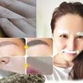Polvo depilatoria 100g, la depilación permanente, quite el pelo de labios, soldados, axilas, los muslos, cara
