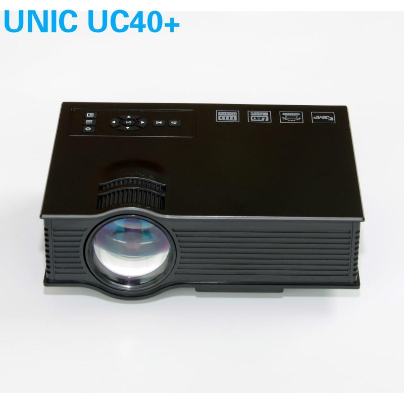 Unic uc40 plus simplified micro projector mini led dlp for Micro projectors mini projectors