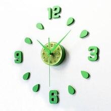Zegar Ścienny do Kuchni Limonka 30 CM-60 CM DIY