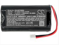 Cameron Sino 2600mah battery for AUDIO PRO Addon T10 T10 T3 T9 TF18650 2200 1S4PB Speaker Battery
