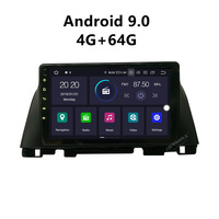 JSTMAX 9'' Android 9.0 4G + 64G ISP Screen Car DVD Radio Stereo Player For kia K5 OPTIMA 2015 2016 Radio