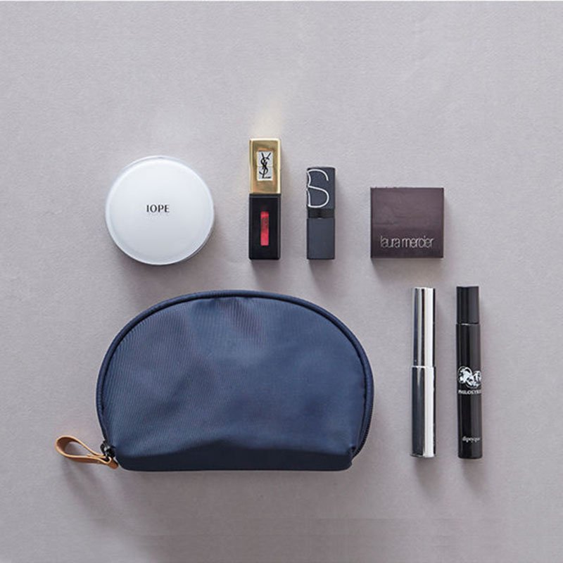 2018 Zipper Main Brand Beautician Clutch Bags Mini Capacity Cosmetic Make Up Travel Protable Makeup Bag Purse Pouch Wholesale