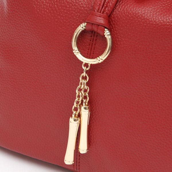 5Cls 2017 New Fashion gelance metal tassel 100% genuine leather women small handbag ladies messenger bag designer purse satchel