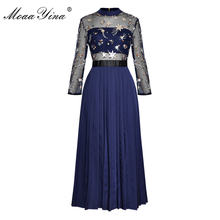 Moaayina мода взлетно посадочной полосы платье сезон: весна–лето