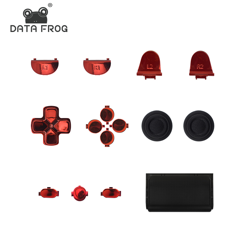 Replacement Plating Button for PS4 Controller Dualshock 4 PS4 Slim Pro  Gamepad Repair Button Dpad Guide