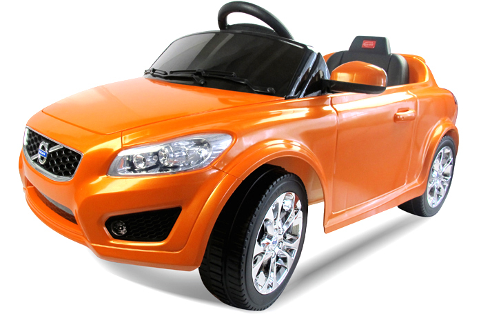 volvo c30 1 4 wheel motorized electric dynamics remote control rc ride on cars toys