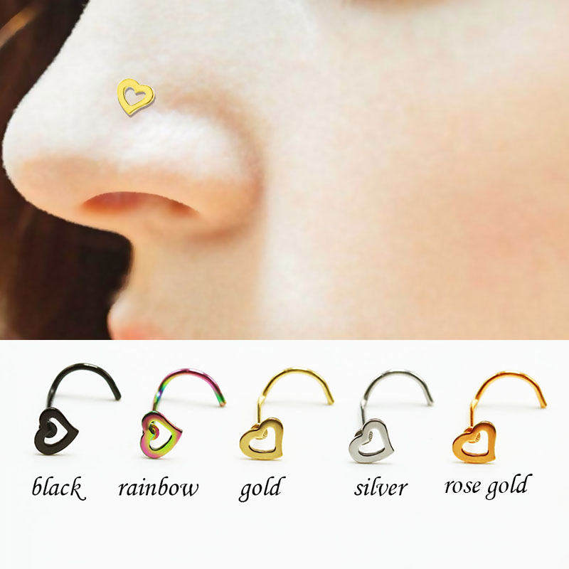 Fashion Star Cartilage Helix Earring Piercing Nose Ring Body Piercing Jewelry tk