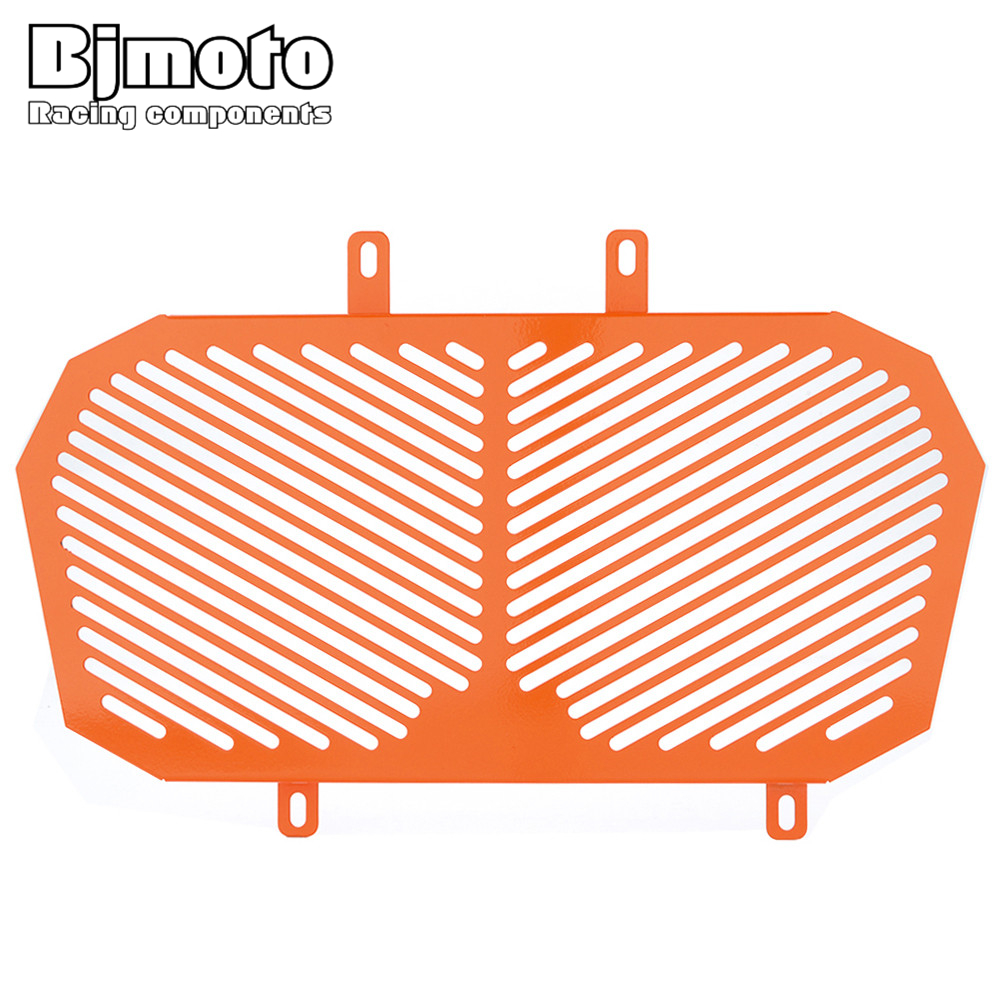 Bjmoto Orange noir DUKE 200 moto en aluminium garde radiateur protecteur Grille gril couverture pour KTM DUKE 125 200