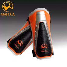 MAICCA Shin Guards Soccer Professional adults Leg Protect Skating Support shank spong Sports training Pads Football Shin pads цена