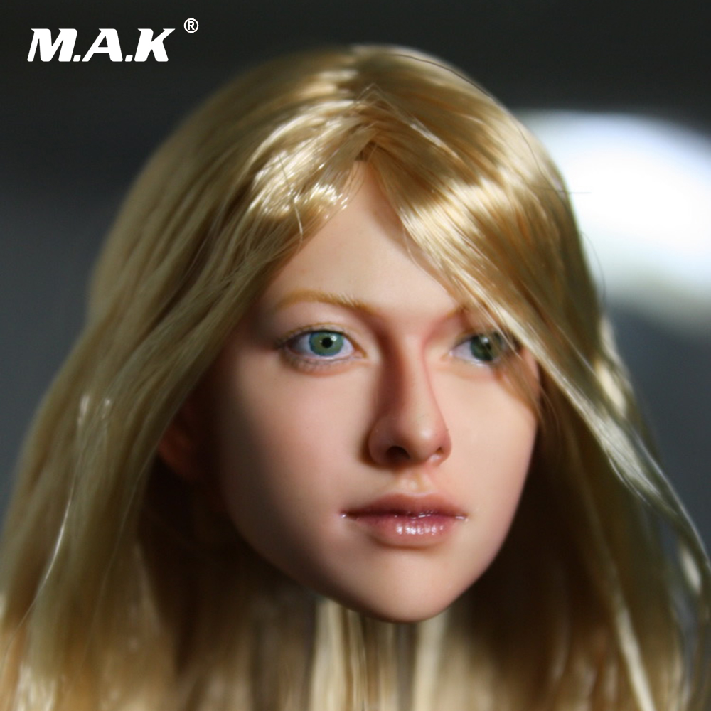1/6  Headplay Female Figure Head Carving Model Beautiful Girl  048_NP Head Sculpt For 12 Action Figure Doll Toys 1 6 scale figure accessories doll female head for 12 action figure doll head shape fit phicne
