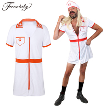 Sexy lingerie for Men Medical Doctor Cosplay Party Costume Uniform Gay Male Nurse Role Play Mini Fancy Dress Sexy Night Clubwear
