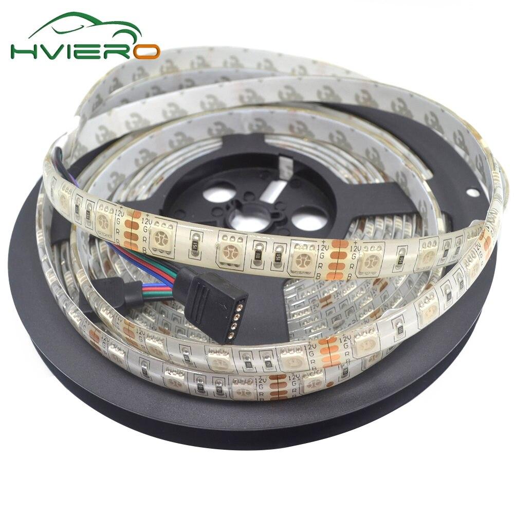 Tiras de Led 5050 dc 12 v ip65 Consumo de Energia (w/m) : 14.4w/m