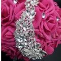 Bouquet Bride Crystal Wedding Bouquets Beaded Bridesmaid Buques Artificial Casamento Rhinestone wedding flowers bridal bouquets