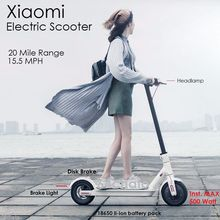 Xiaomi Mijia M365 electric kick scooter Aluminum/Alloy foldable Light weight balance scooter white color